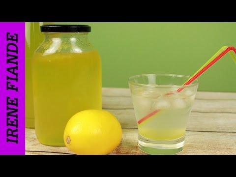 Как сварить лимонный сироп