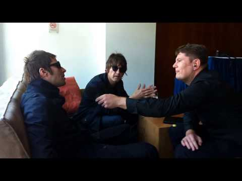 Beady Eye Liam Gallagher and Gem about Noel on BBC Radio 5