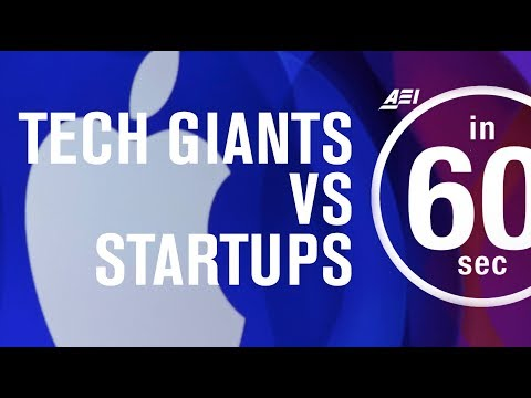 Tech giants vs internet startups | IN 60 SECONDS