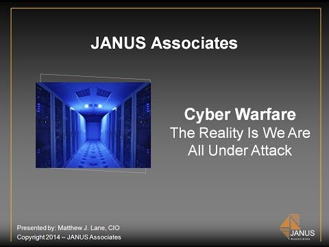 Cyber Warfare -- The Reality Is We Are All Under Attack