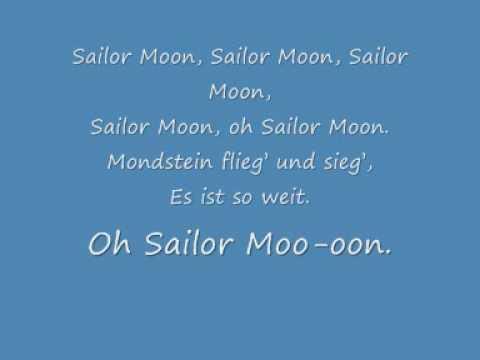 Sailor Moon - Sag das Zauberwort Lyrics