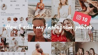 How I Edit My Instagram Photos! (TY French Presets) / 11-2