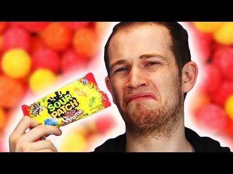 Irish People Taste Test Sour Patch Kids