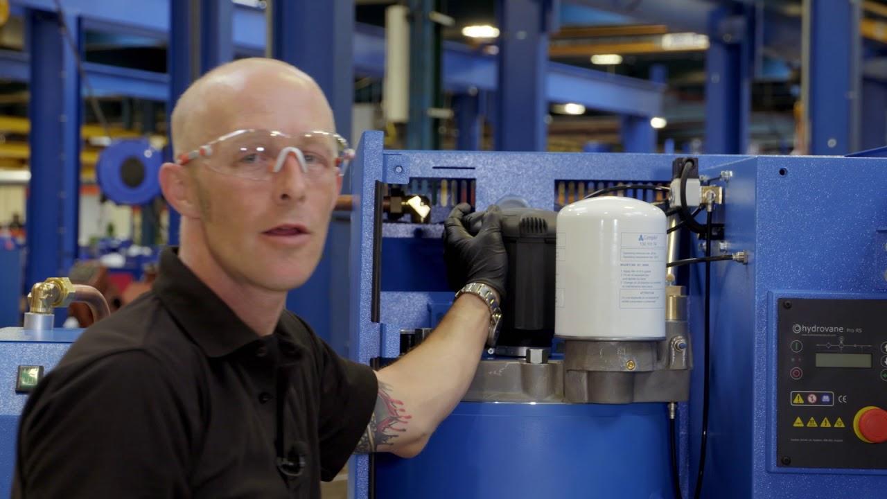 Gardner Denver Air compressor Specs Electra saver Ii Manual