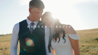 Hannah + Kevin || Wyoming Wedding