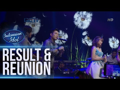 GHEA, JODIE ft. ARMADA - ASAL KAU BAHAGIA - RESULT & REUNION - Indonesian Idol 2018