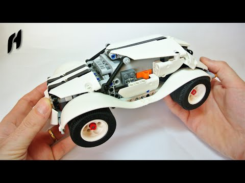 How To Build The Lego Technic Wrc Car Power Functions Sbrick