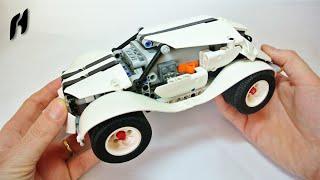 How to Build the Lego Technic WRC car (Power Functions + SBrick)