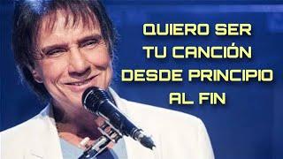 Quiero ser tu canción desde principio al fin | Roberto Carlos — Cama y Mesa | Letra 🎵