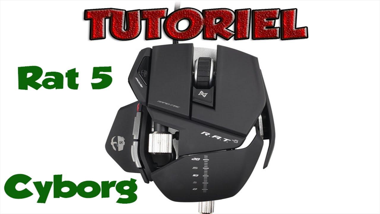 [TUTO] Rat 5 Mad Catz Cyborg - Configuration et Installation Complète [Fr] - YouTube