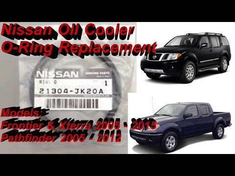 Nissan Oil Cooler O-Ring Replacement for Frontier Xterra Pathfinder