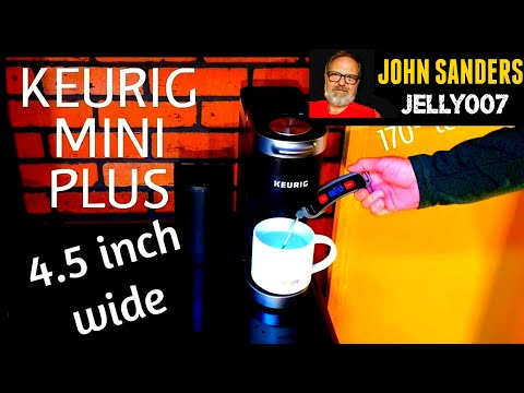 KEURIG K MINI PLUS Compact K CUP single Coffee Maker review UPDATE!! UNIT STOPPED WORKING 8-1-19