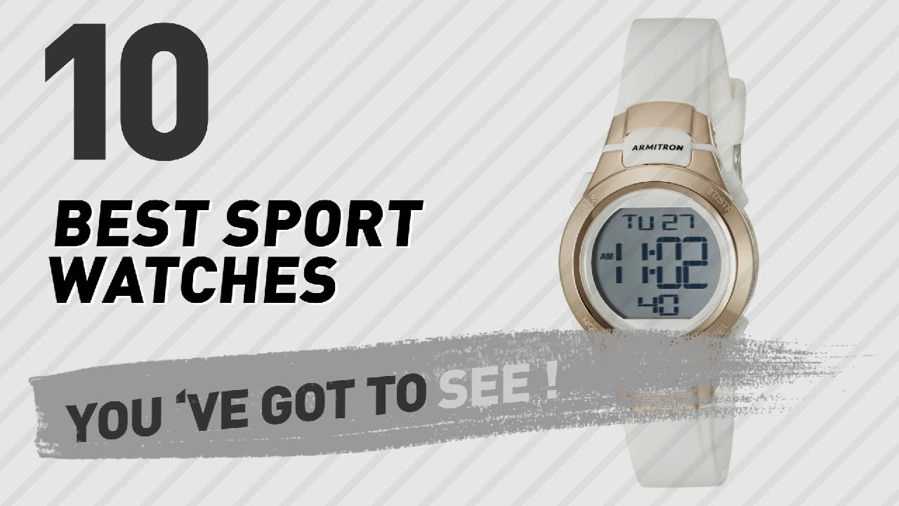 a8aee7312 Top 10 Sport Watches For Women // New & Popular 2017 - YouTube