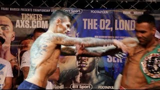 TEMPERS FLARE! - MARTIN MURRAY SHOVES ROBERTO GARCIA AT WEIGH IN AS IT ALL KICKS OFF WITH THE TEAMS!