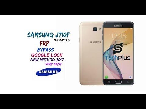 samsung j710F nougat 7 0frp bypass New method 2018 - Most Popular Videos