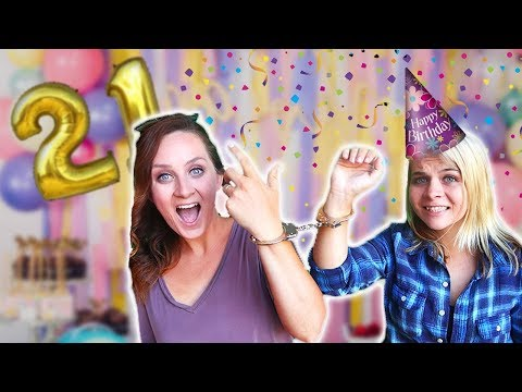 24 HOURS HANDCUFFED ON MY 21st BIRTHDAY W/ Missy Lanning! // SoCasse