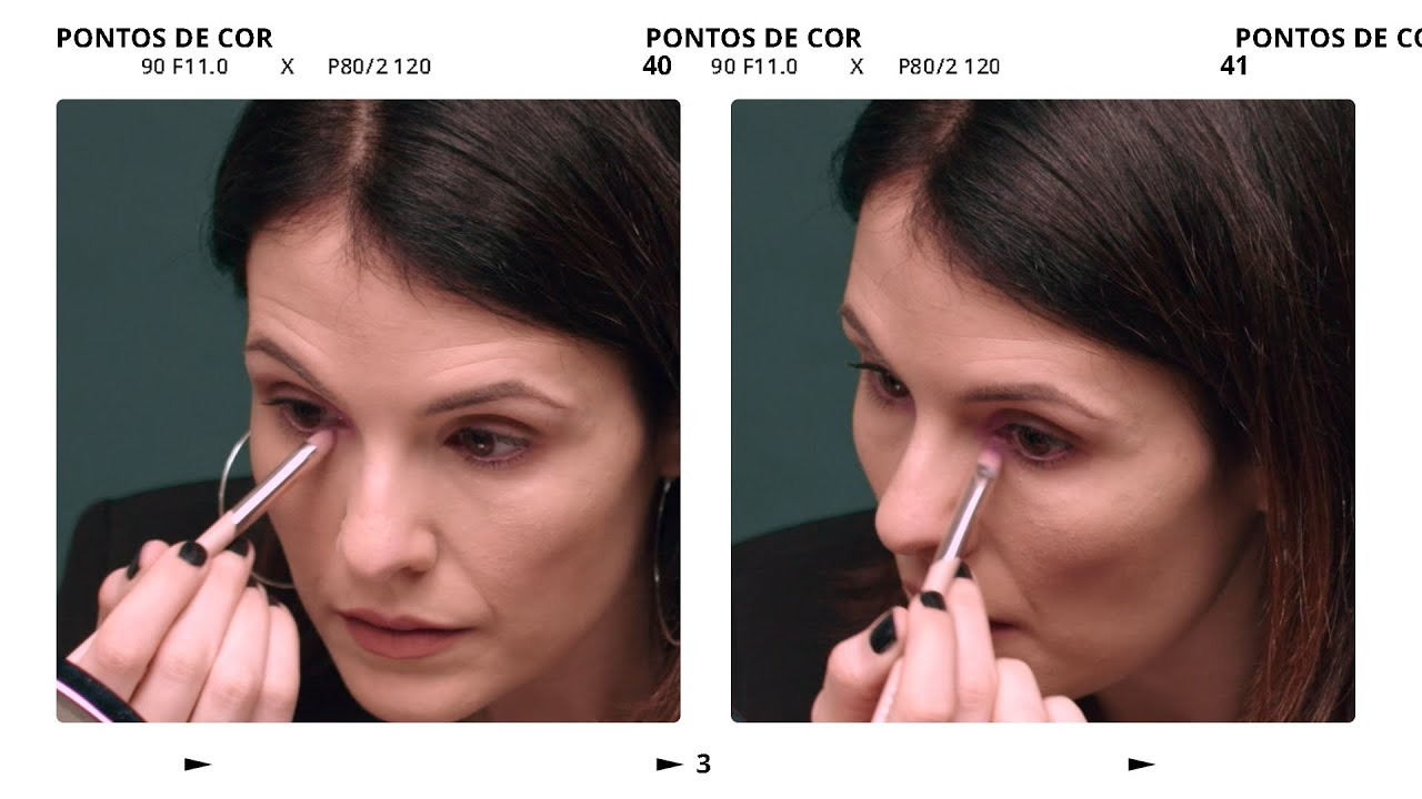 Cor na maquiagem