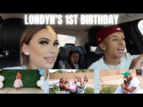 LONDYN'S 1ST BIRTHDAY PARTY! *emotional*
