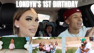 LONDYN'S 1ST BIRTHDAY PARTY! *emotional*