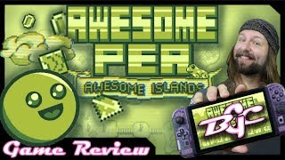 Awesome Pea: Switch Review (Retro Platformer - Indie Game)