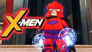 LEGO X-MEN Magneto Custom LEGO DC Supervillains Videogame Guide