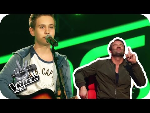 Jamie Lawson - Wasn't Expecting That (Luca) | Blind Auditions | The Voice Kids 2017 | SAT.1