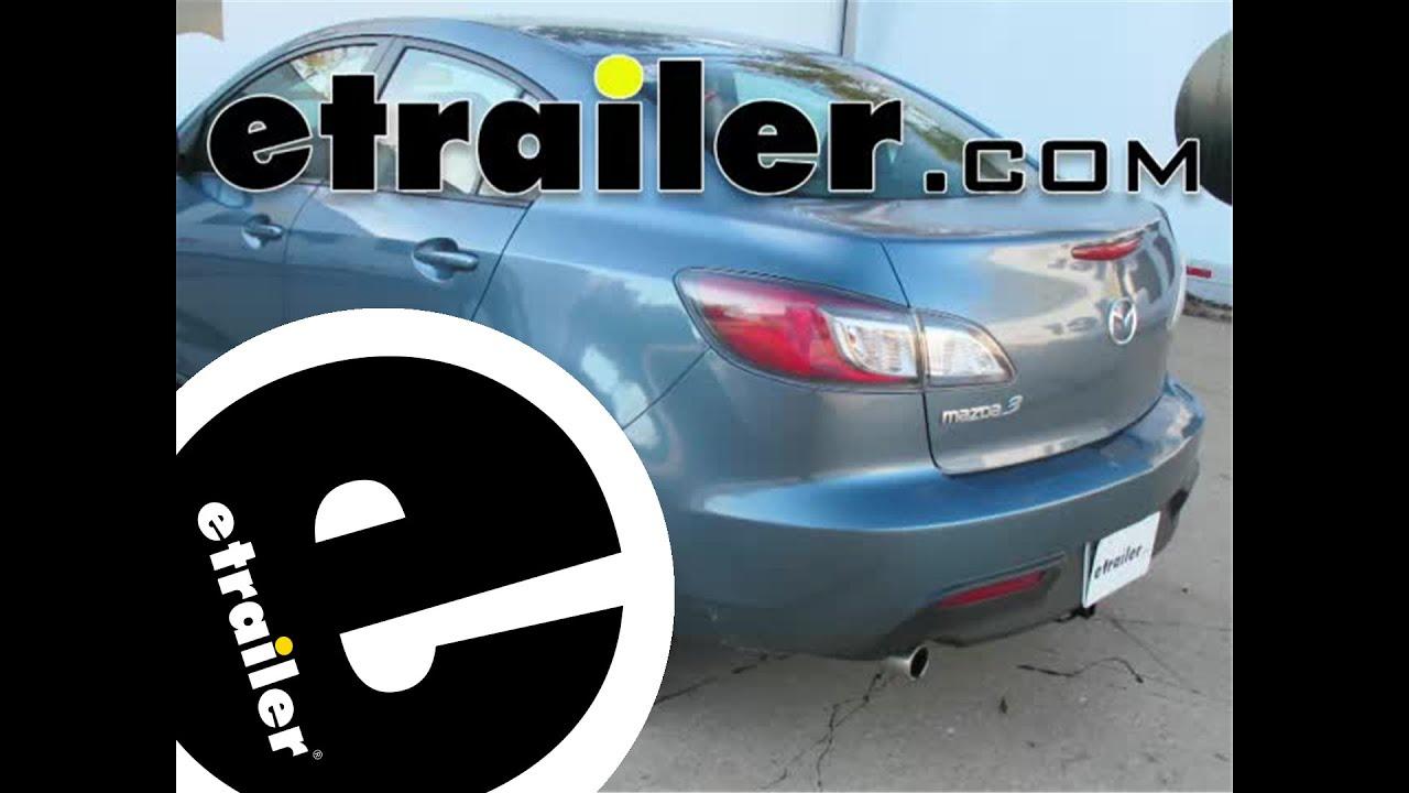 hight resolution of trailer wiring harness installation 2010 mazda 3 etrailer com