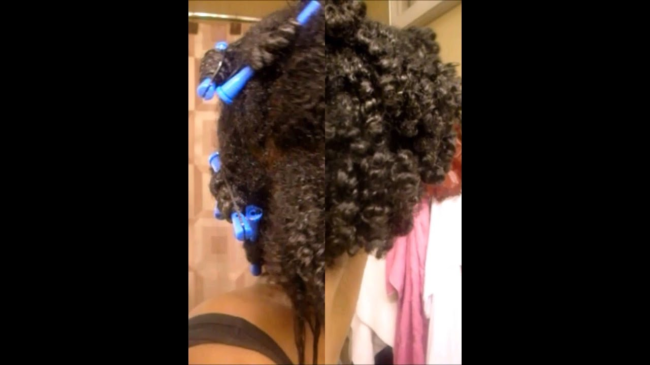 Transitioning Hairstyle | Looking Natural Without the Big Chop - YouTube