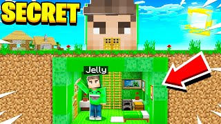 I found JELLY's Secret Minecraft Bunker!
