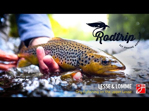 Dry Flyfishing On The Upper Lesse