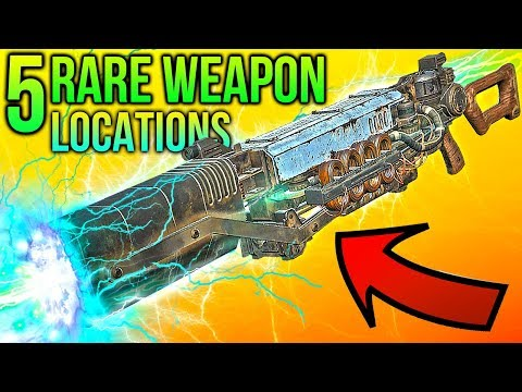 Fallout 76 - 5 More Rare Weapon Locations! thumbnail
