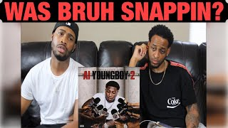 NBA Youngboy - AI Youngboy 2 | GHETTO REACTIONS/REVIEWS | FIRST LISTEN