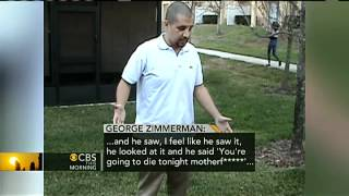 Zimmerman gives his account of shooting on video
