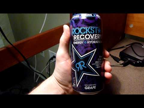 Energy Drink Review: Rockstar Recovery Grape