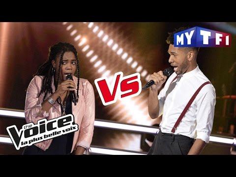 Imane VS Valentin F. -  « Come » (Jain) | The Voice France 2017 | Battle