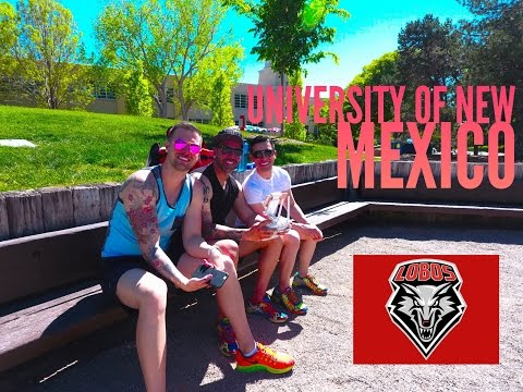 University of New Mexico UNM - ThatHighView 4K