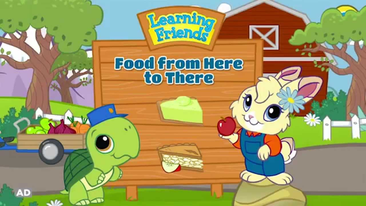 Learning Friends Food From Here To There