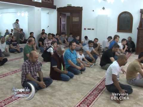 Avrupada Ramazan Verviers 1