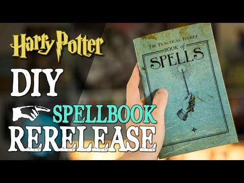 DIY Spellbook Re-Release!