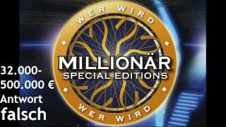 Wer wird Millionär Soundtracks [9] - 32.000-500.000 € [Antwort Falsch]