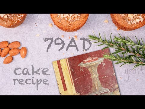 The 2000 year old honey cake from Pompeii | How To Cook That Ann Reardon