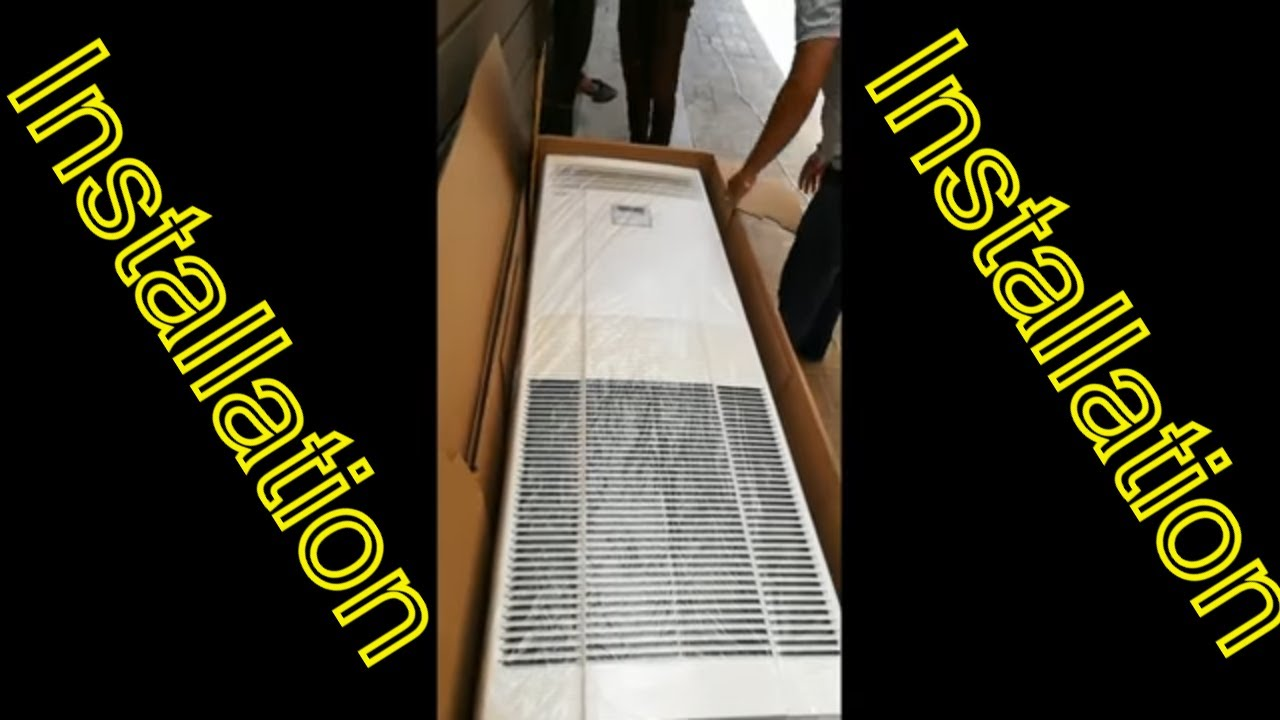 how to install floor standing air conditioner mitsubishi heavy industries [ 1280 x 720 Pixel ]
