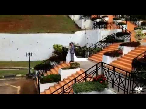 Kota Lukut Fort and Museum Wedding Drone View