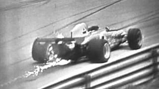 Clay Regazzoni crashes out of 1972 Italian Grand Prix