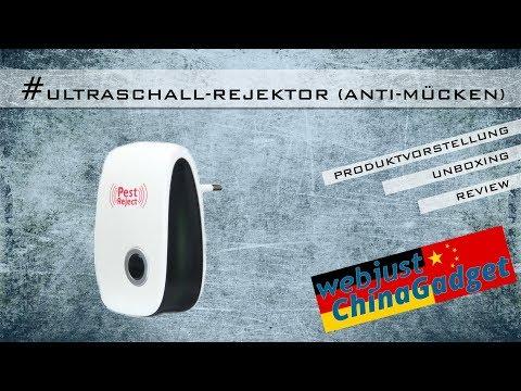 Anti-Mücken - Ultraschall Rejektor [ Unboxing - Review - German/deutsch ]