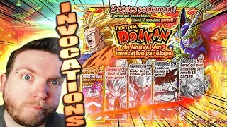 INVOCATIONS STEP UP NOUVEL AN (SUITE & FIN) - DRAGON BALL Z DOKKAN BATTLE