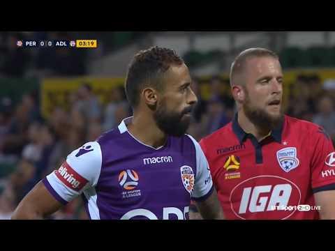 Perth Glory VS  Adelaide United  live