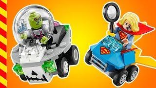 Мультик ЛЕГО гонки на машинах. Лего машины гонятся за суперменом. Мультики про машинки