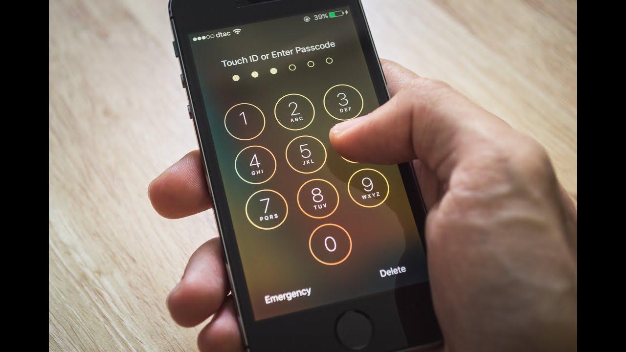 ازالة قفل الايفون تجاوز جميع انواع قفل الايفون و الايباد حتى لو كانت شاشة الايفون مكسورة Youtube