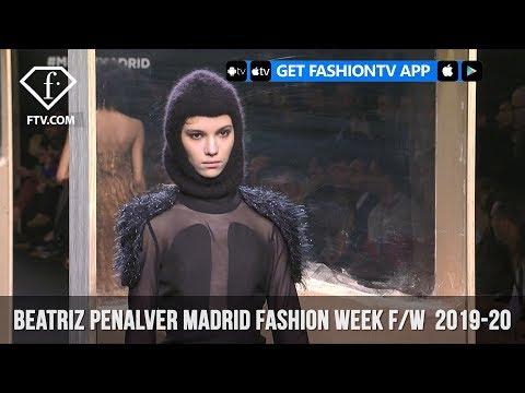 Beatriz Penalver Madrid Fashion Week Fall/Winter  2019-20   FashionTV   FTV